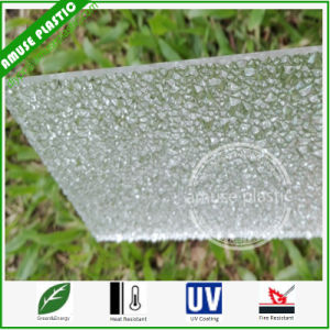 Clear Excellent Light Bling Plastic PC Polycarbonate Embossed Sheet Wholesale pictures & photos