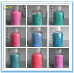 Color Speckles Colored Sodium Sulphate Added Into Detergent Powder