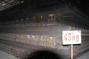Heavy Steel Rail U71Mn 43kg/M GB