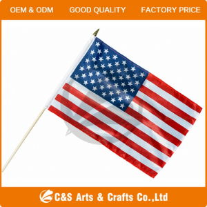 Custom Polyester Hand Stick Flags pictures & photos