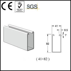 41*82mm Pre-Galvanized Steel Strut Channel