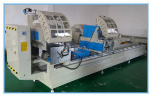 Aluminum Window Machine/ Double-Head Precision Cutting Saw/Aluminum Window Profile Saw Machine pictures & photos