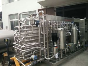 Fully Automatic Tube Fruit Puree Ultra-High Temperature Sterilizer pictures & photos