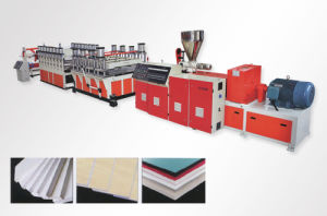 WPC Profile Decking Machine pictures & photos