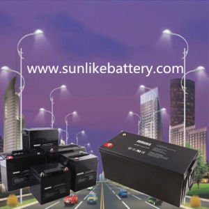 12V200ah Deep Cycle Rechargeable UPS Battery for Energy Storage pictures & photos