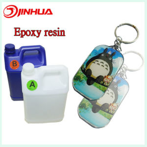High Quality Clear Epoxy Resin for Keychain pictures & photos
