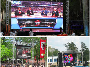 P5.95mm Adjustable Angle Rental Outdoor LED Display (CE, RoHS) pictures & photos