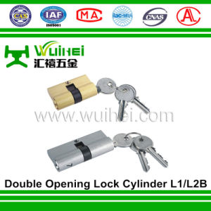 Stainless Steel Double Opening Cylinder L1/L2b pictures & photos