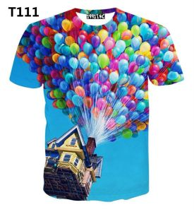 Men′s Sublimation Full Print Short Sleeve T-Shirt pictures & photos