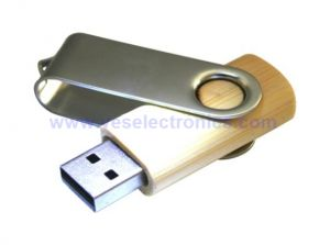 Wood Swivel USB Flash Drive USB Driver 2.0 pictures & photos