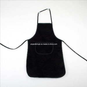 Printed Black Long Apron pictures & photos