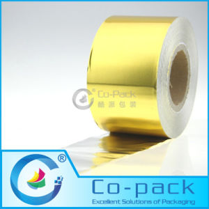 Golden Color Aluminum Foil Paper Roll Film pictures & photos