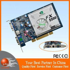 Nvidia Fx5500 PCI 256MB DDR Tvo+Dual VGA Card