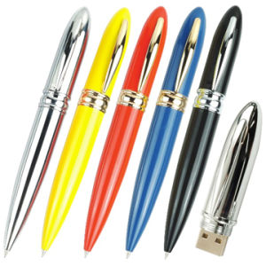 Pen Shape USB Flash Drive (USB 2.0) pictures & photos