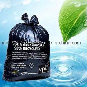 PE Recycled C- Fold Garbage Bag with Large Capacity