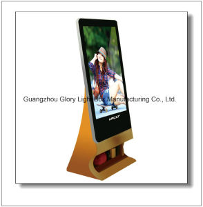 Indoor Floor Stand Network Digital Multimedia Display pictures & photos