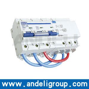 3p Breaker Residual Current Circuit Breaker (DZ47LE-100) pictures & photos