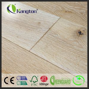 Wide Plank EU Oak Engineered Wood Flooring with Multiply Woodcore pictures & photos