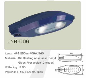 Son250W/400W Sodium Lamp Street Light (JYR-006) pictures & photos