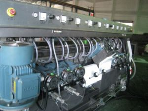 CE Horizontal Flat Glass Double Edging Machine with Skde-4020A pictures & photos