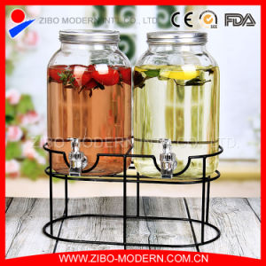 Glass Bottle Water Dispenser with Stand pictures & photos