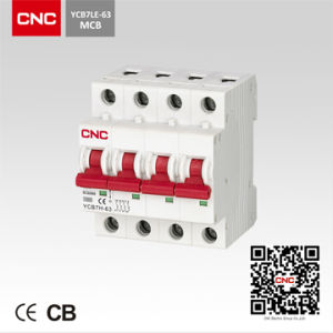 Miniature Circuit Breaker (YCB7H-4P) pictures & photos