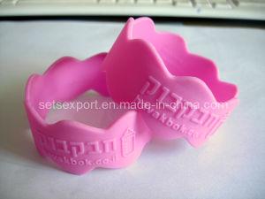 Wave Shape Silicon Bracelets Free Shape Silicon Wristband