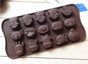 Different Shape Funny Cartoon Animal Silicone Chocolate Mold pictures & photos