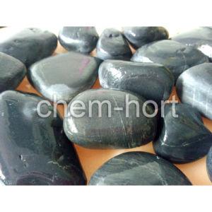 Black Pebble for Garden, Decoration (F08-black series) pictures & photos