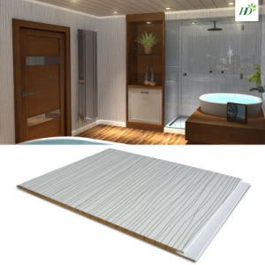 Waterproof Material PVC Panel Wall Decor 7/8/9*250mm pictures & photos