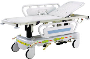 Medical Equipment Luxurious Hydraulic Emergency Stretcher pictures & photos