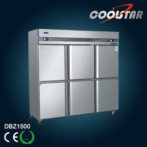 Three Door Kitchen Freezer with Extra Big Storage Capacity pictures & photos
