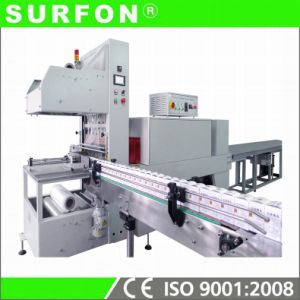 PE Film Heat Shrink Packaging Machine (GH-5030AE+SF-6040E) pictures & photos