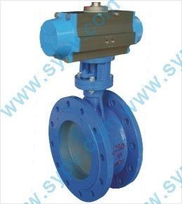 Flange Soft Seal Butterfly Valve
