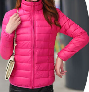 Pink Cropped Motorcycle Jacket for Women