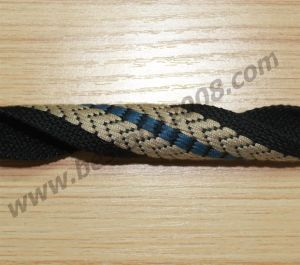 China Factory Spun Polyester Jacquard Webbing Belt#1501-31c pictures & photos
