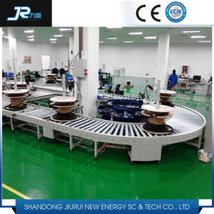 Steel Transition Roller Conveyor for Production Line pictures & photos