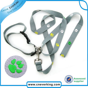 Strong Retractable Dog Collar Leash with Printed Logo pictures & photos