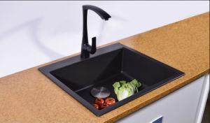 Artificial Stone Quartz Kitchen Sink Hgy002 pictures & photos