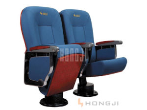 High Quality Fabric Upholstery Auditorium Seat, Push Back Theater Chair Hj9623 pictures & photos