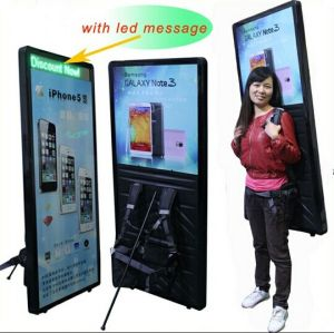 Popular Backpack Light Box Outdoor Advertisement pictures & photos