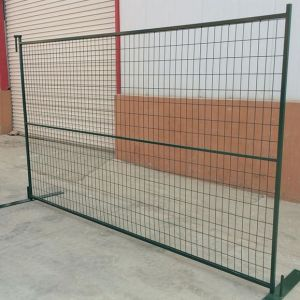 6FT*8FT Galvanized Temporary Fence Panel for Canada Market pictures & photos