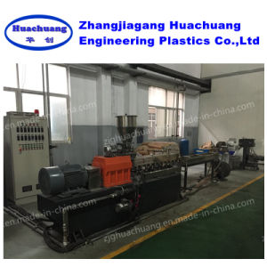 PA Flakes Granulator Parallel Twin Screw Extruder Machine pictures & photos