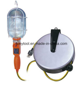 Incandescent Work Light with 20 FT Retractable Reel pictures & photos
