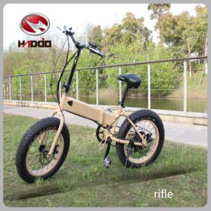 250W Fat Tire Electric Folding Scooter Lithium Battery Ebike pictures & photos