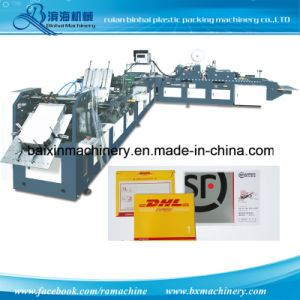 Four Side Seal Document Pocket Envelope Making Machine pictures & photos