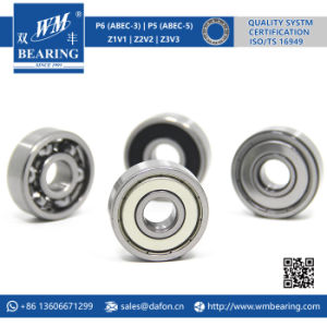 6301 Zz 2RS High Speed Spindle Radial Ball Bearing pictures & photos