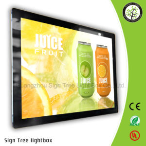 Slim LED Magnetic Frame Advertising Light Box pictures & photos