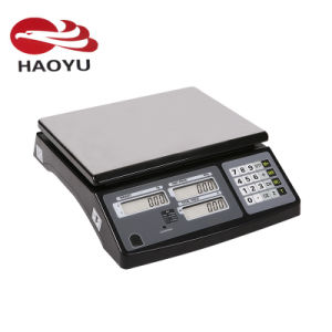 Desktop Electronic Price Weighing Digital Scale for Vegetables pictures & photos