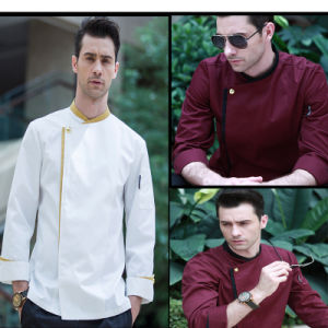 Fashion Short Sleeve Multi Color Man Cook Chef Uniform pictures & photos
